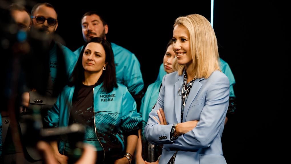 Бизнесмен из Новосибирска сцепился с Ксенией Собчак на реалити-шоу партии «Новые люди»