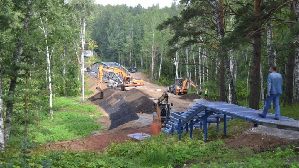 Новый мост за 34 миллиона рублей построят в пригороде Новосибирска