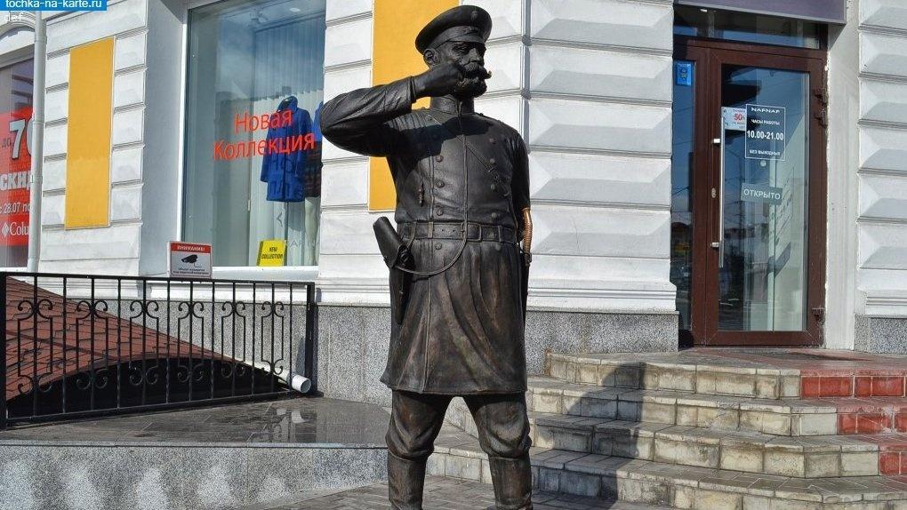 На восстановление скульптуры Городового на Любинском понадобится 300 тысяч рублей