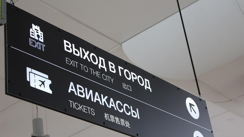 Пассажира самолёта «Новосибирска-Екатеринбург» сняли с рейса за нецензурную брань