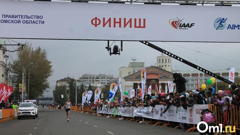 На отменённый марафон в Омске успели потратить 5,5 млн рублей
