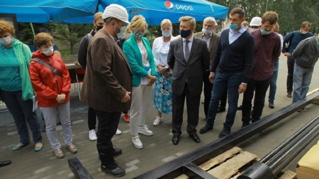 Любимый парк жителей новосибирской Затулинки откроют в сентябре