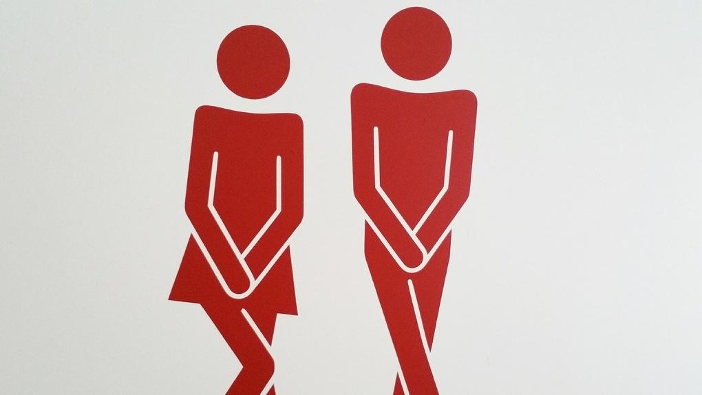 Омские школьники вынуждены ходить в туалеты-дырки