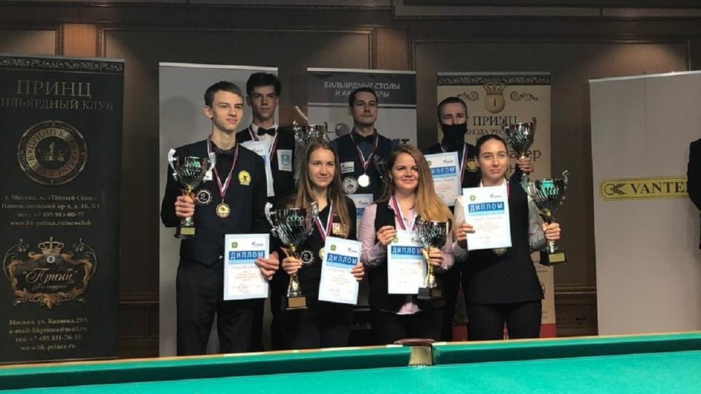 Новосибирская спортсменка завоевала «серебро» на чемпионате России по бильярду