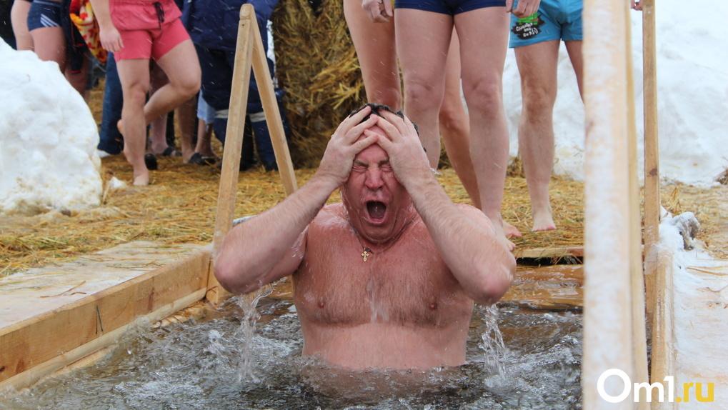 15 фотографий с крещенских купаний, леденящие кровь