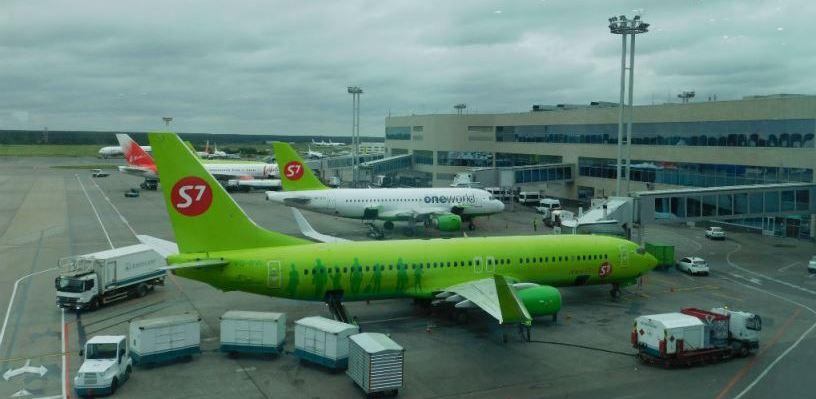 В Москве задержали шесть рейсов в Омск из-за страшного ливня