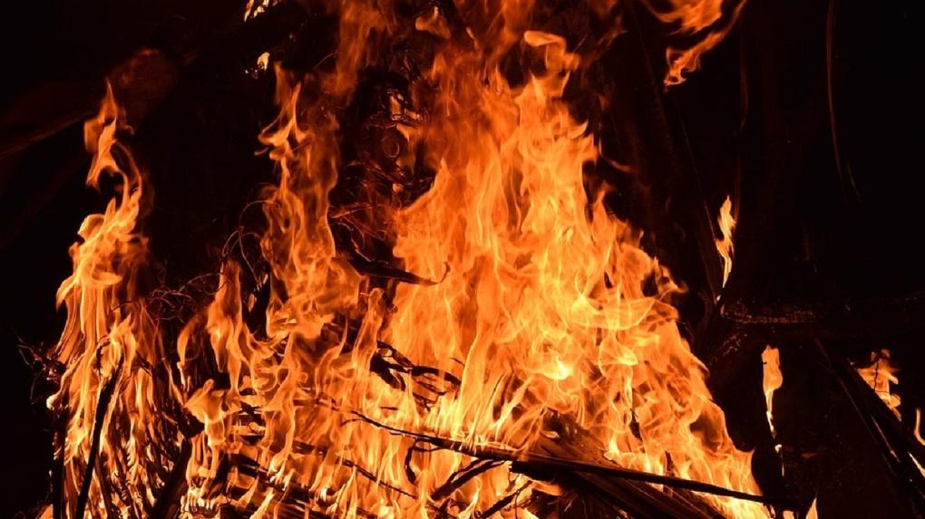 На севере Омской области нет воды для тушения пожаров