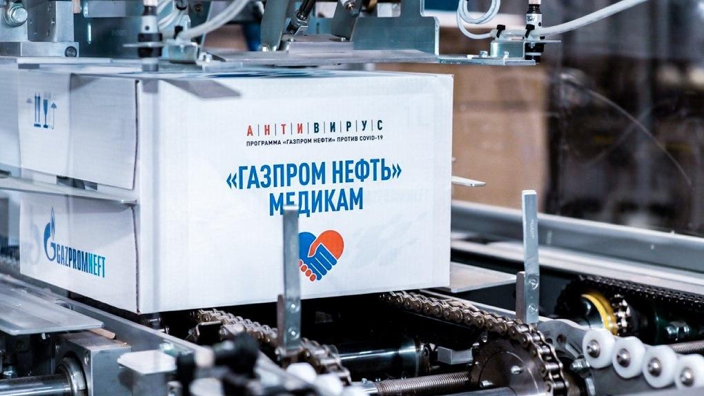 Омские врачи получат более полумиллиона медицинских масок от «Газпром нефти»