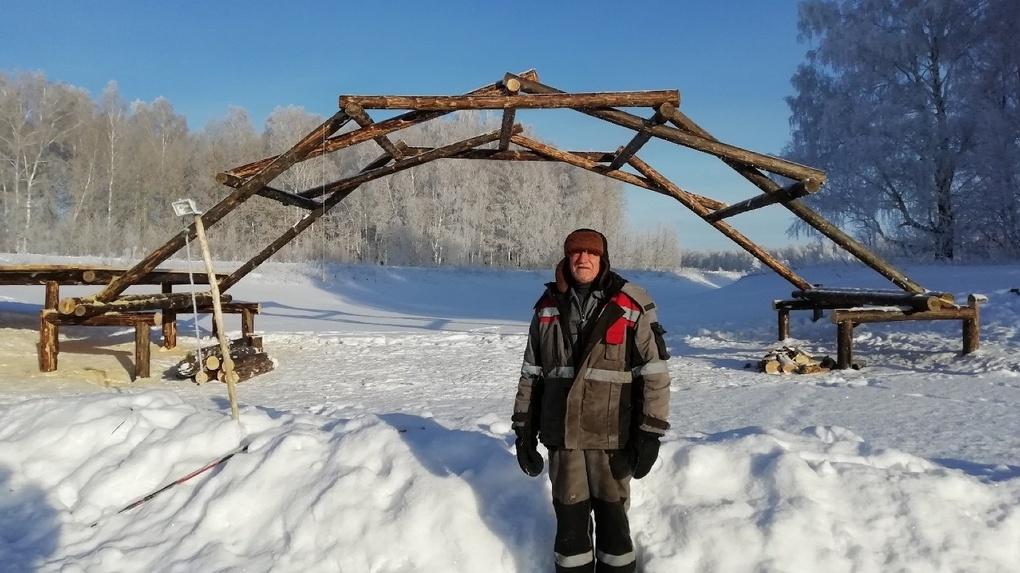 В Омской области строят мост по эскизу Леонардо да Винчи