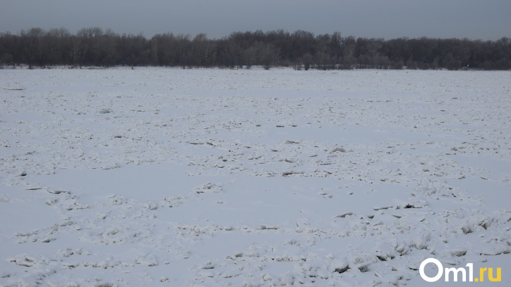 Тело пришлось выпиливать из реки. Психически больного омича нашли вмёрзшим в лёд