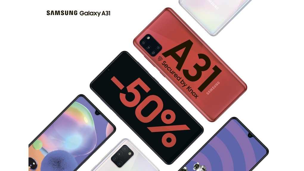 В новый учебный год с новым смартфоном: скидки до 50% на смартфоны Samsung