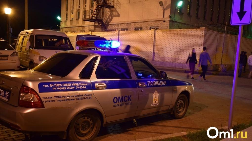 Школьник виноват сам: омская полиция прокомментировала ДТП с участием их сотрудника