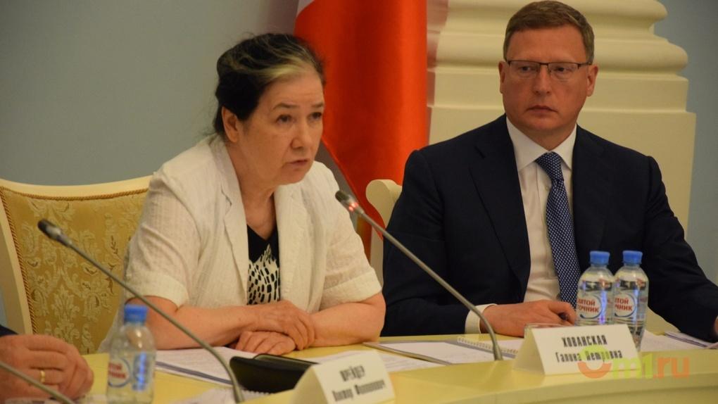 Хованская пообещала Омску федеральные деньги на ремонт хрущевок