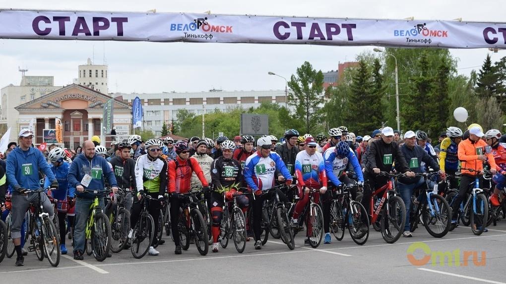 Тысячи омичей вышли на старт юбилейного спортивного праздника «ВелоОмск»