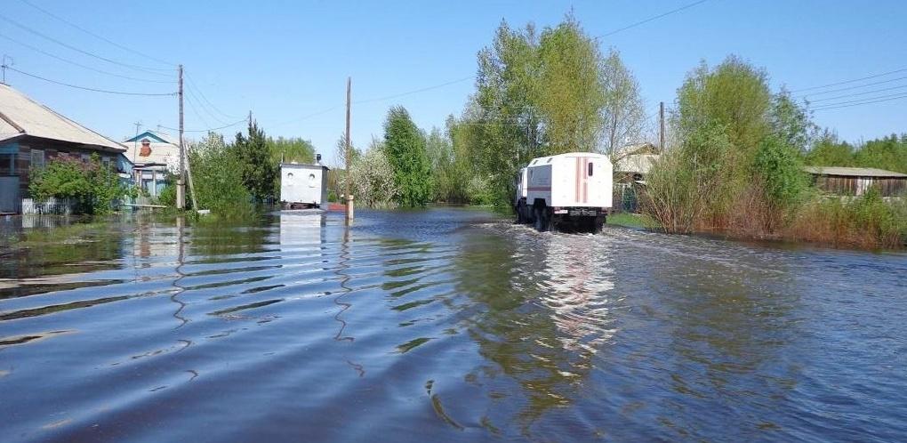 Из-за сбросов на ГЭС в Казахстане Иртыш затопит юг Омской области