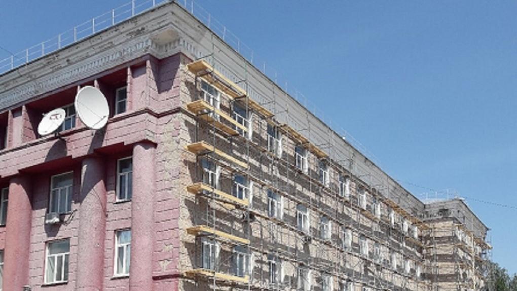 В Новосибирске делают капремонт главного технического вуза