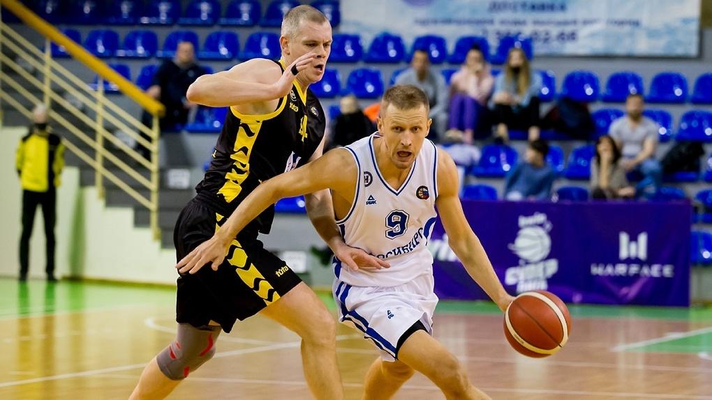 Баскетбольный клуб «Новосибирск» проиграл «Востоку-65» в рамках Кубка России
