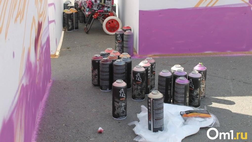 Омский граффитист SLAVA объяснил, зачем уродует городские улицы