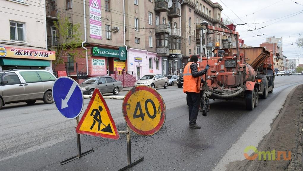 Омская область стала лидером в России по срокам начала ремонта дорог