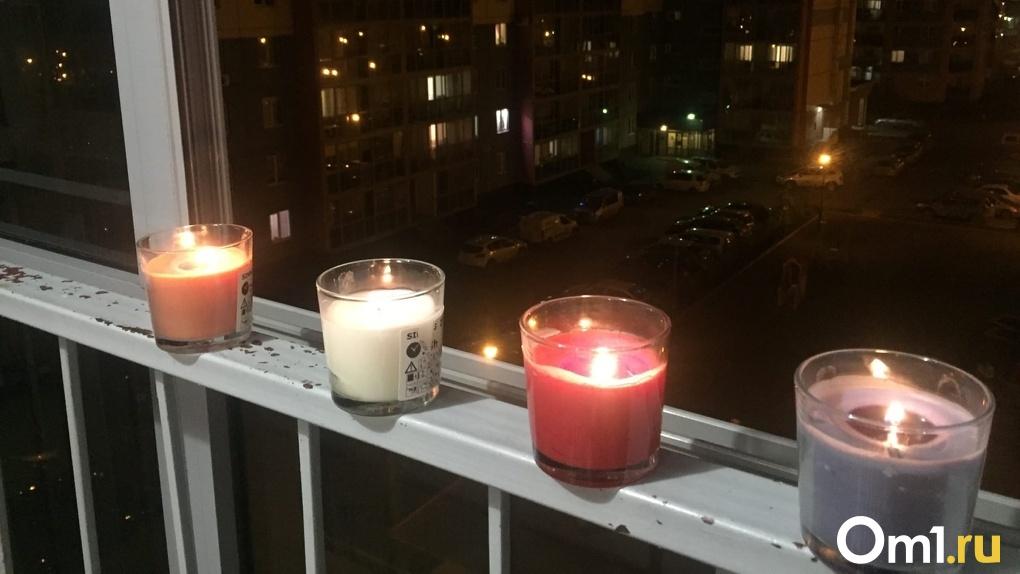 Событие до слёз! Новосибирцы заполонили соцсети снимками «Свечей памяти» (обновляется)