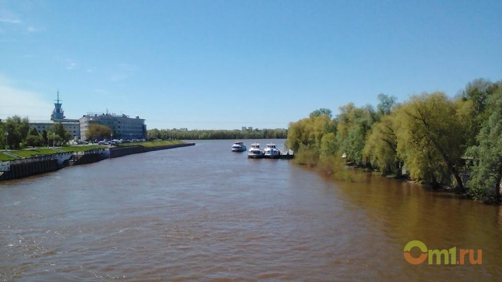 Омичей напугала вода в Иртыше