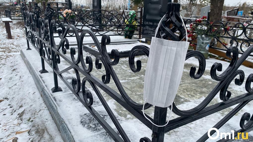 В Омске был побит рекорд по смертности от COVID-19 – за сутки скончались девять человек