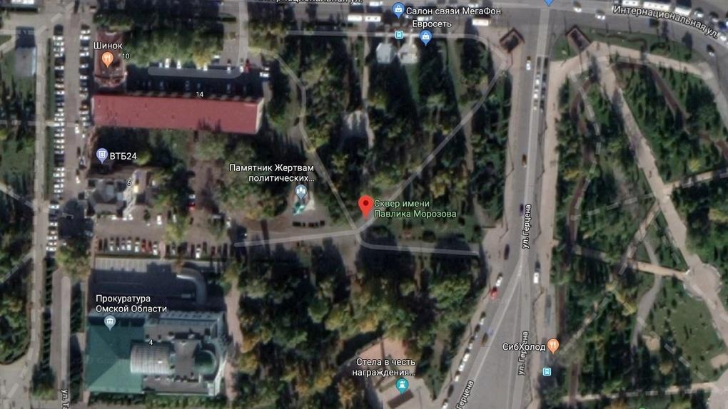 Еще один сквер обновят в Омске