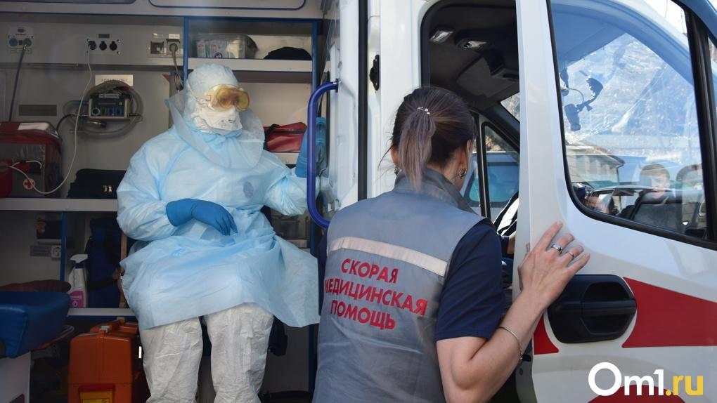 Количество заражённых COVID-19 в районах Омской области продолжает увеличиваться