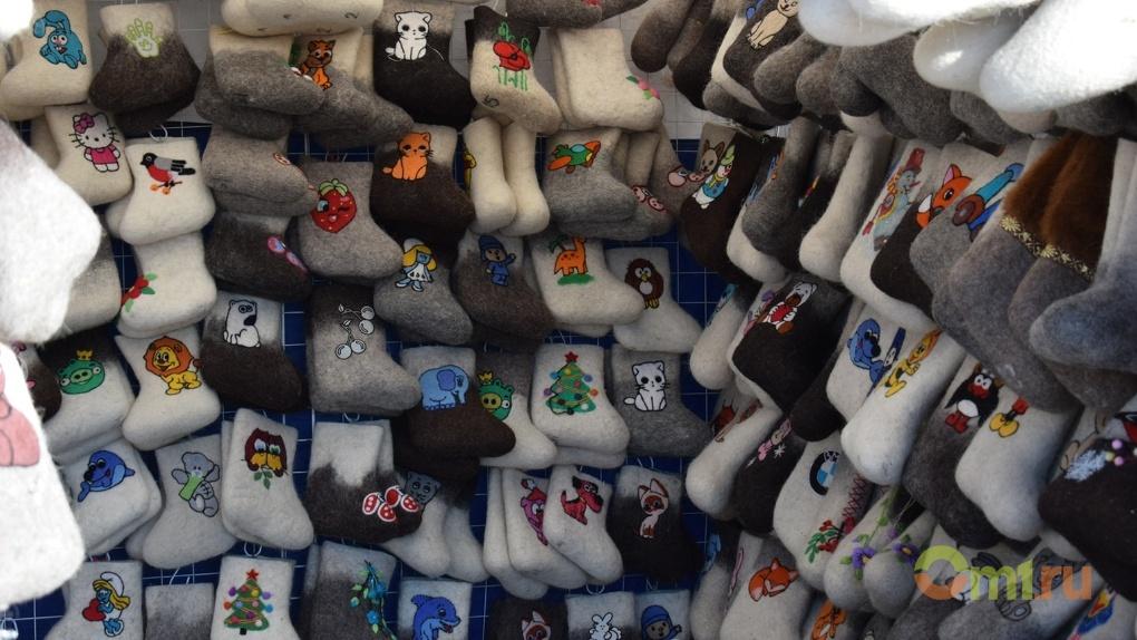 В Омске прошёл фестиваль валенок