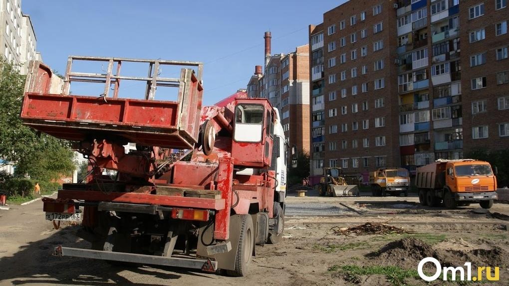 В Омске до конца сентября перекроют улицу Перелёта