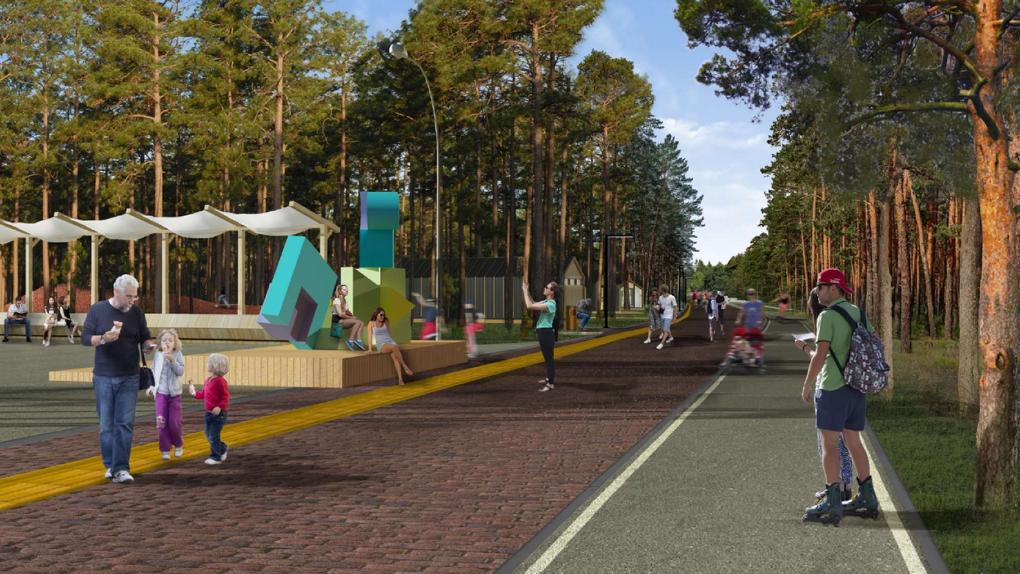 Создание амфитеатра и малой сцены: новосибирский Заельцовский парк ждёт масштабная реконструкция