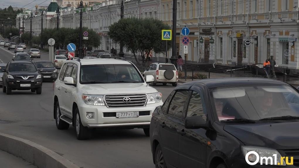 В Омске изменили порядок движения на трёх перекрёстках