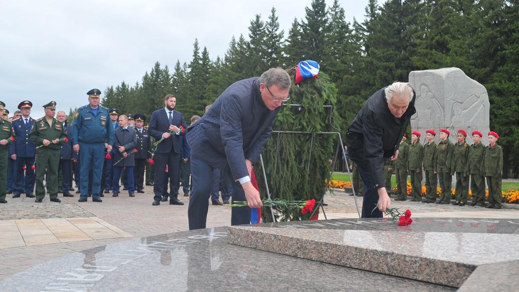 В день окончания Второй мировой войны в Омске прошли акции и различные мероприятия