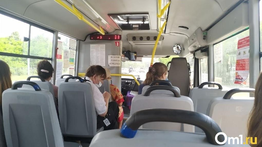 В Омской области в автобусе умер мужчина
