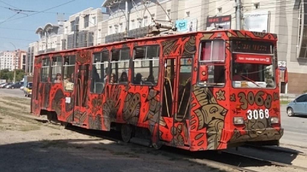 Четыре новосибирских художника изменят трамваи до неузнаваемости
