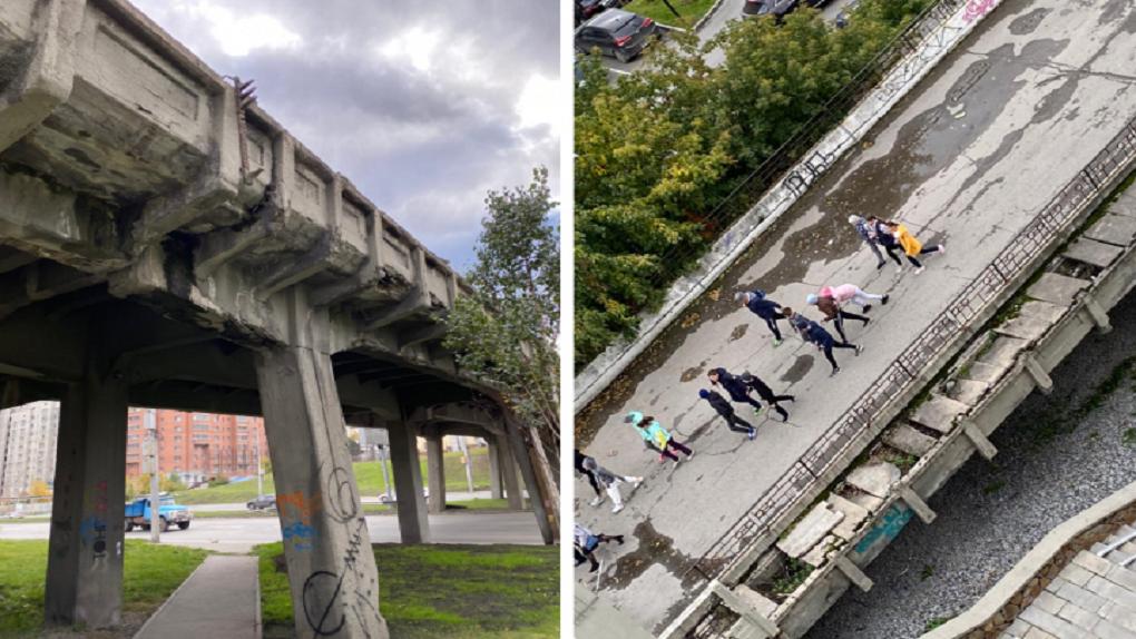 В Новосибирске могут снести 90-летний мост