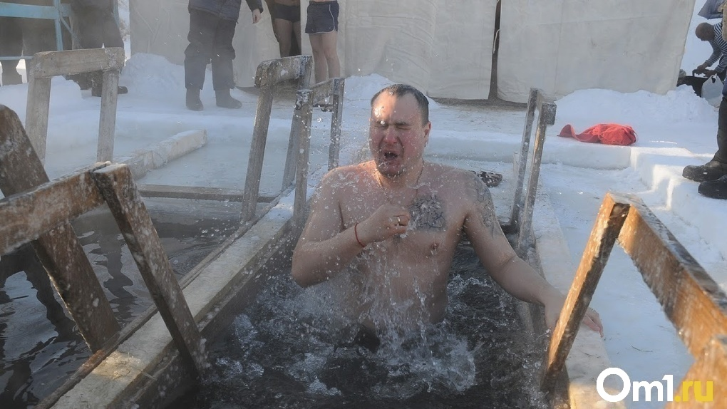 Омские «моржи» попросили в Крещение не нырять в прорубь на «Зелёном острове»