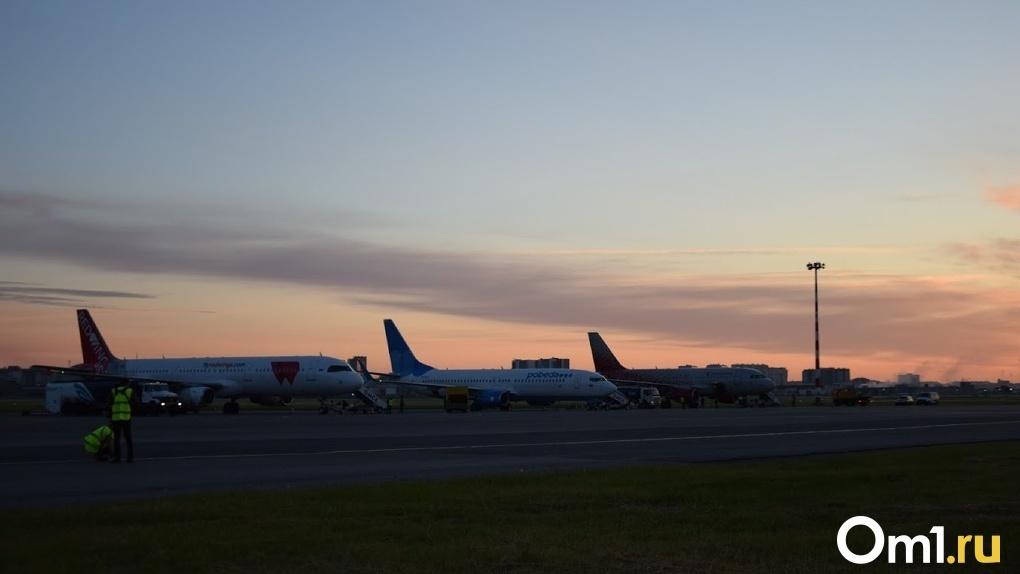 Омский аэропорт запускает сразу пять новых субсидируемых авиарейсов