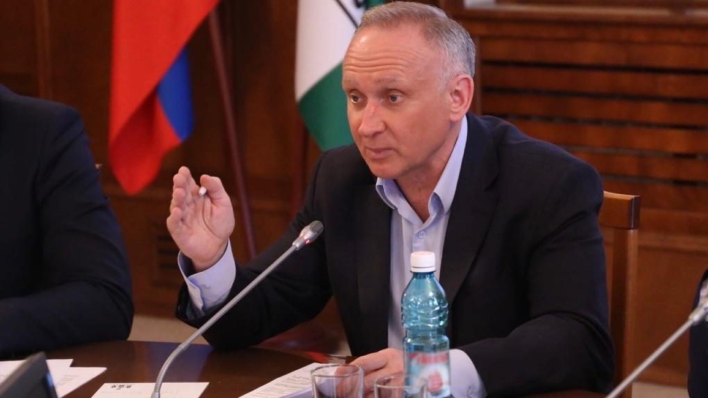 Андрей Панфёров возглавил фракцию «Единой России» в новосибирском Заксобрании