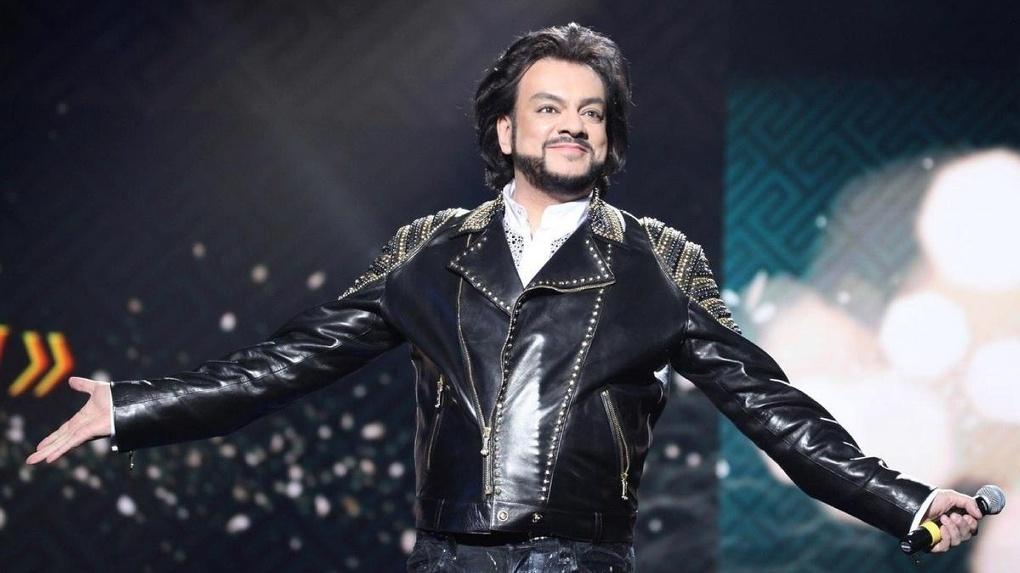 Киркоров на концерте в Омске: «50 лет – лишь повод получить орден в Кремле»