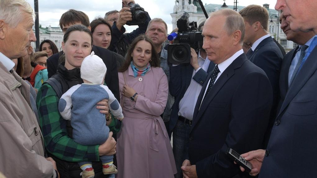 Кремль опубликовал планы Путина на Омск