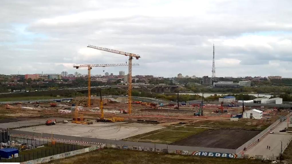 Контроль строительных работ «Арены Омск» будет осуществлять компания из Москвы