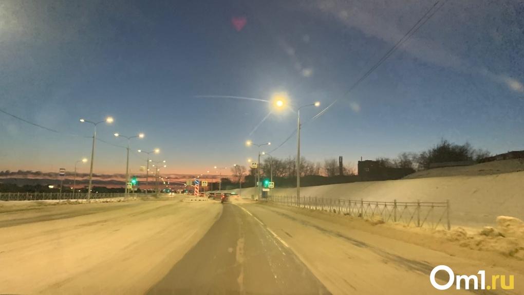 Успели! Официальное открытие омской дороги «за миллиард» состоится в канун Нового года