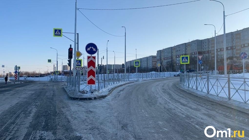 В центре Омска устранили конфликтную ситуацию на дороге