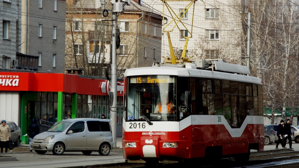 Памятник трамваю установят в сквере за оперным театром в Новосибирске