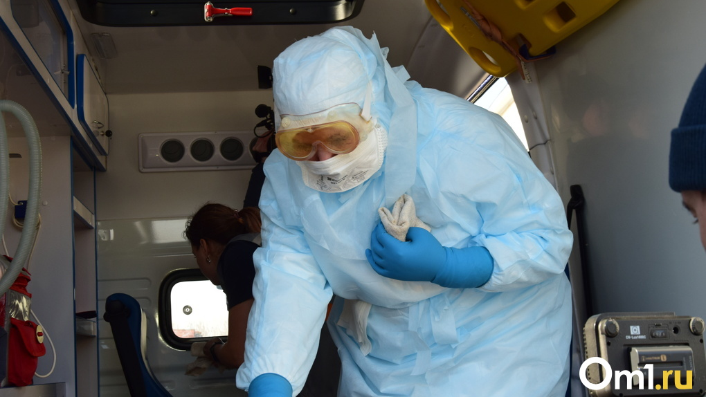 В Омском районе произошла вспышка коронавируса