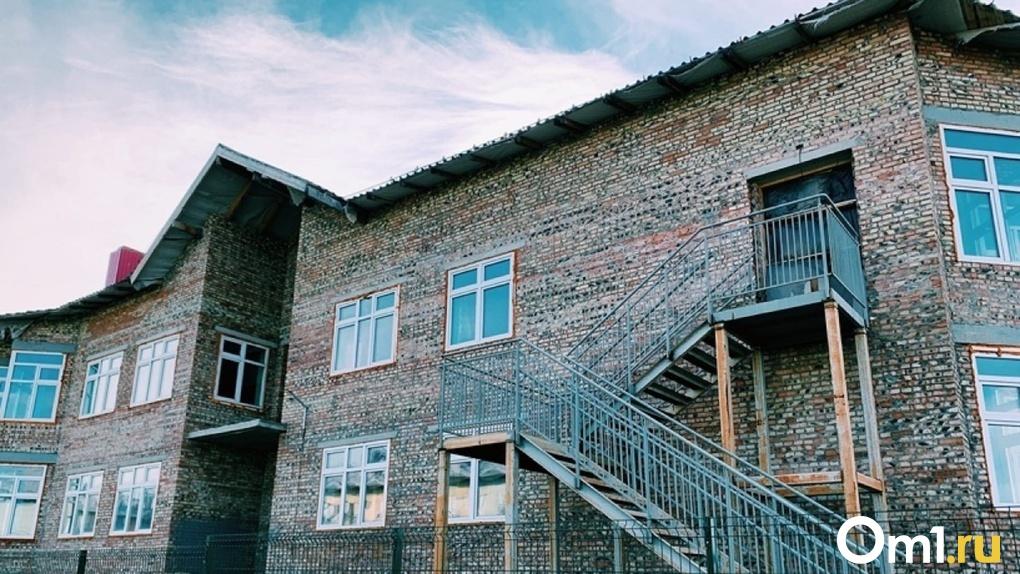 В Омске продолжается строительство детского сада в «Рябиновке» на 310 мест