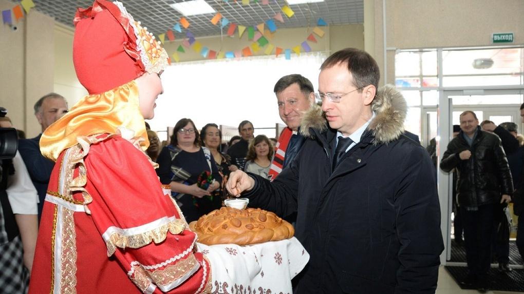 Министр культуры России открыл в Омской области новый ДК