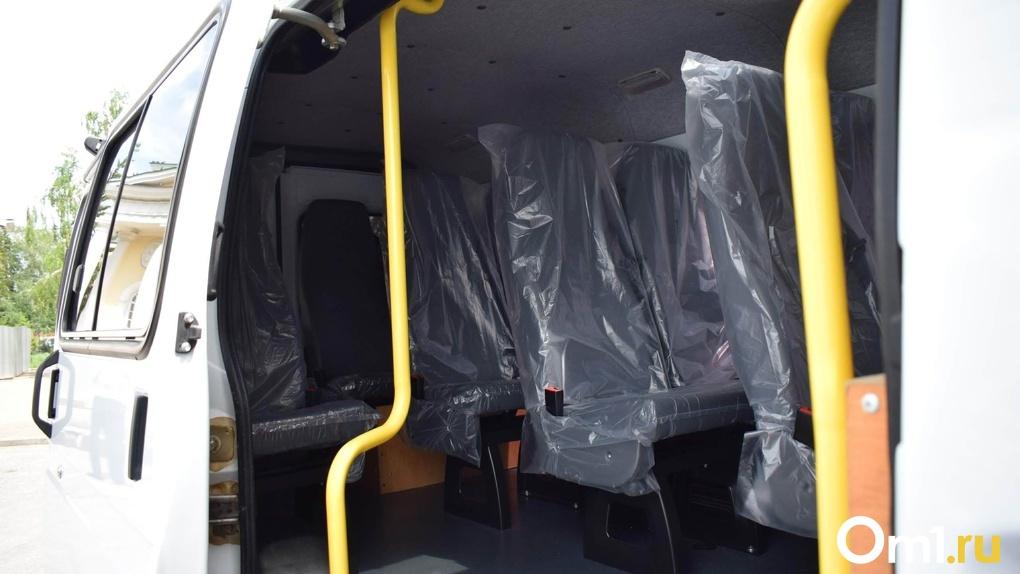 Омский маршрутчик установил цену в 30 рублей за проезд в кабине