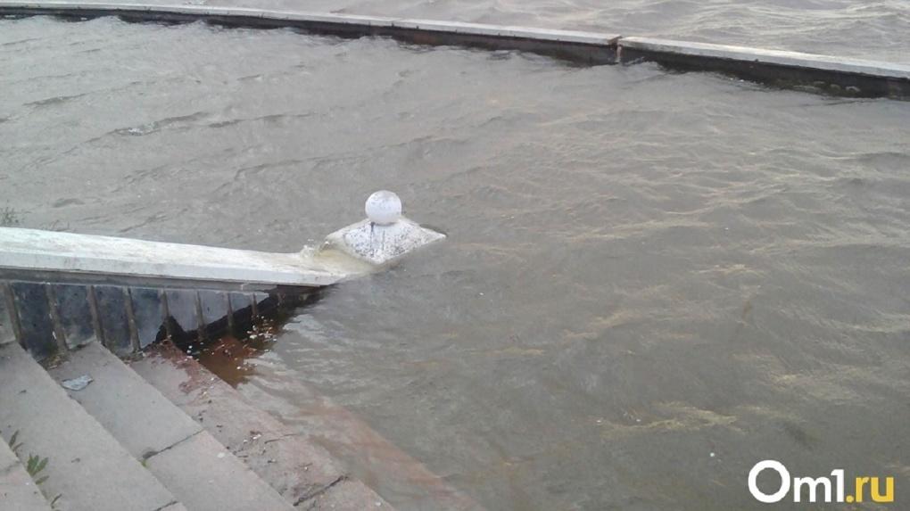 Паводок наступает? В Новосибирске прогнозируют резкое повышение уровня воды в реке Обь